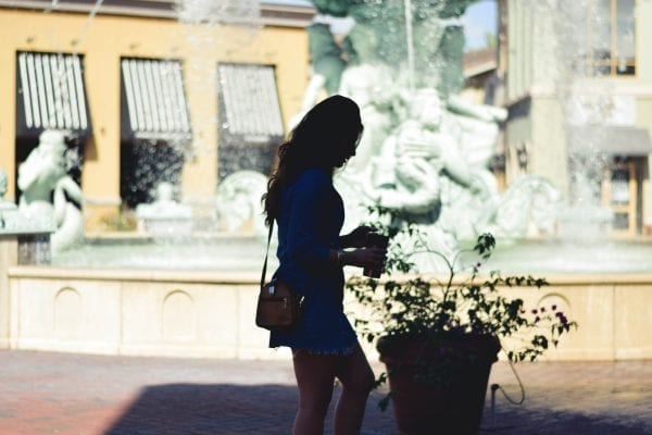 plaza venezia, dr phillips, delirium style, zara, denim dress