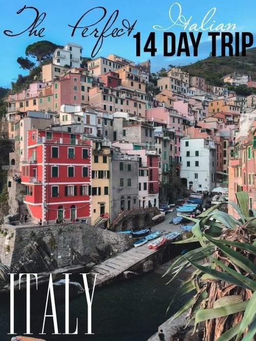 2-Week Itinerary in Italy: A Beginner's Guide