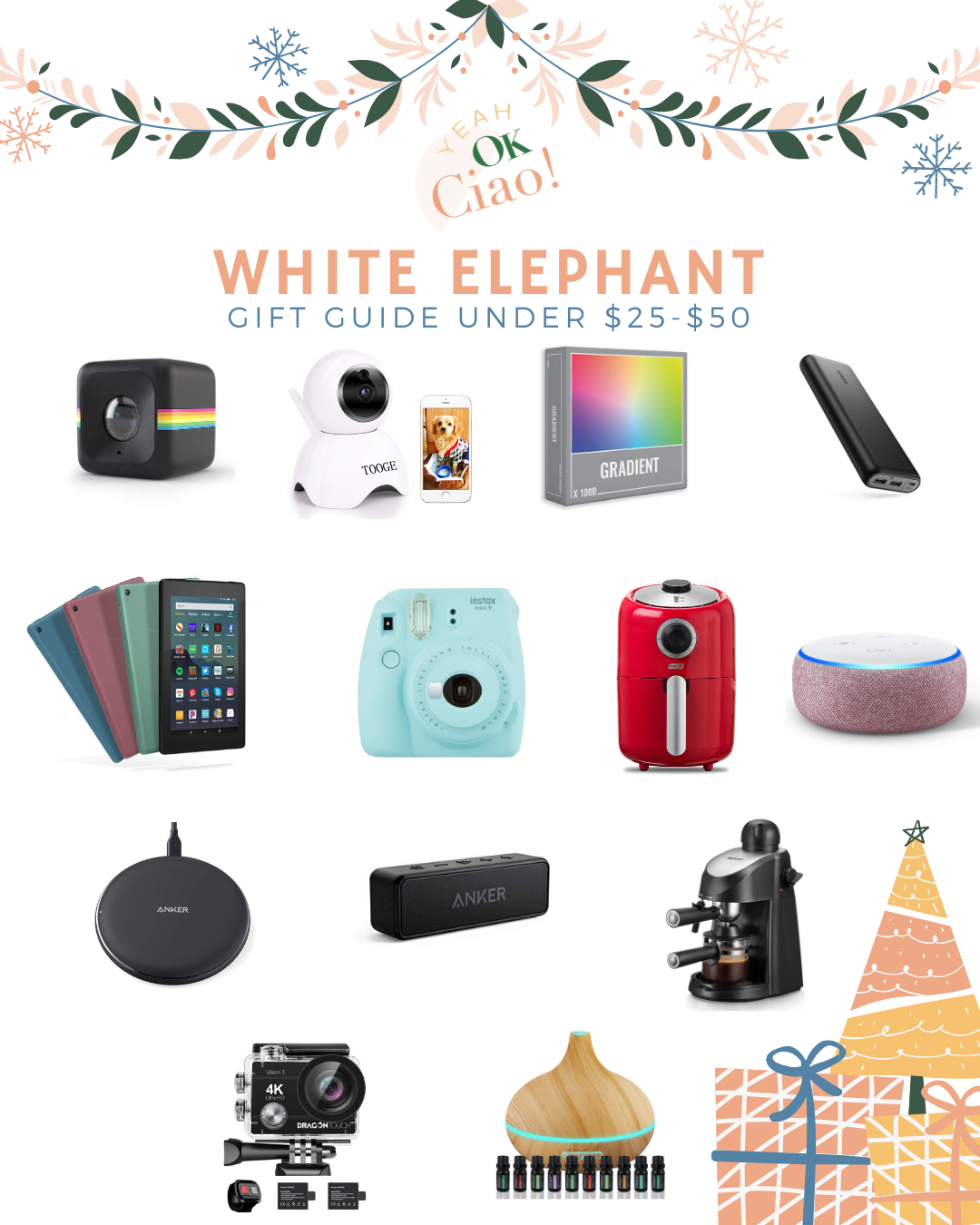 The Ultimate White Elephant Gift Guide For 2019 Yeah Ok Ciao